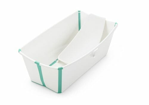 Stokke Flexi Bath White Aqua With Newborn Insert