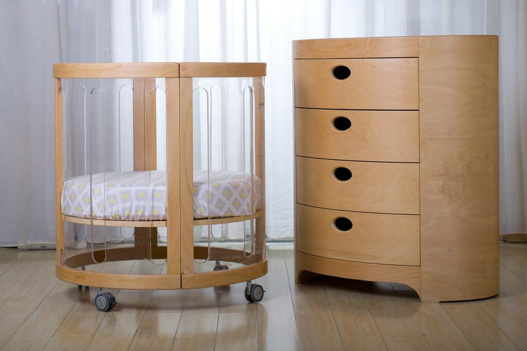 Kaylula Sova Cot as Basinet with Optional Chest