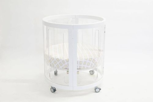 Kaylula Sova Cot Configured as Bassinet White