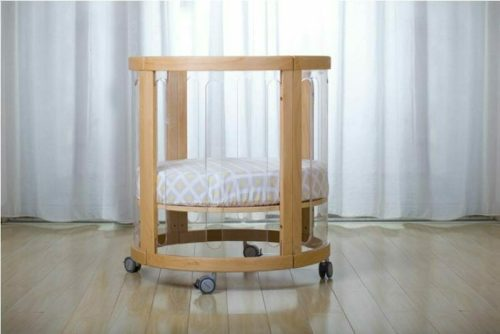 Kaylula Sova Cot configured as Basinet