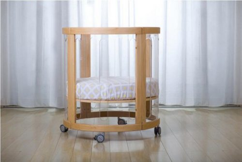 Kaylula Sova Cot configured as a Basinet