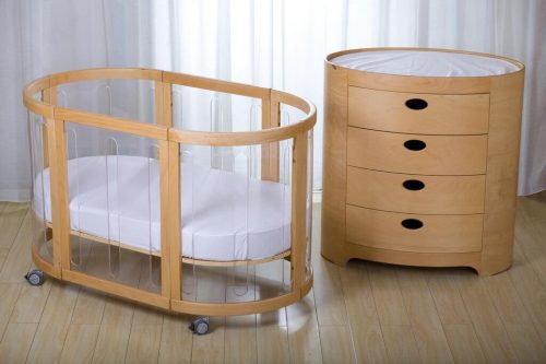 Kaylula Sova Clear Cot and Optional Chest