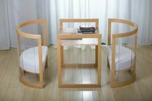 Kaylula Sova Cot configured as Table and Chairs