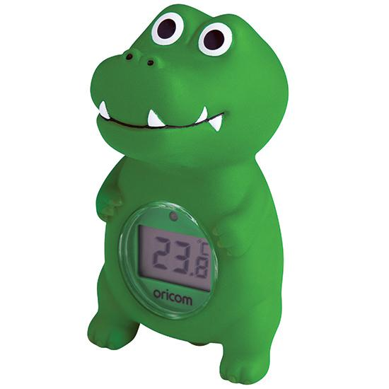 Oricom Digital Bath and Room Thermometer Croc