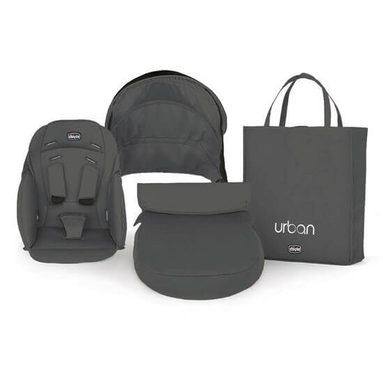 Chicco Urban Stroller Anthracite Colour Pack