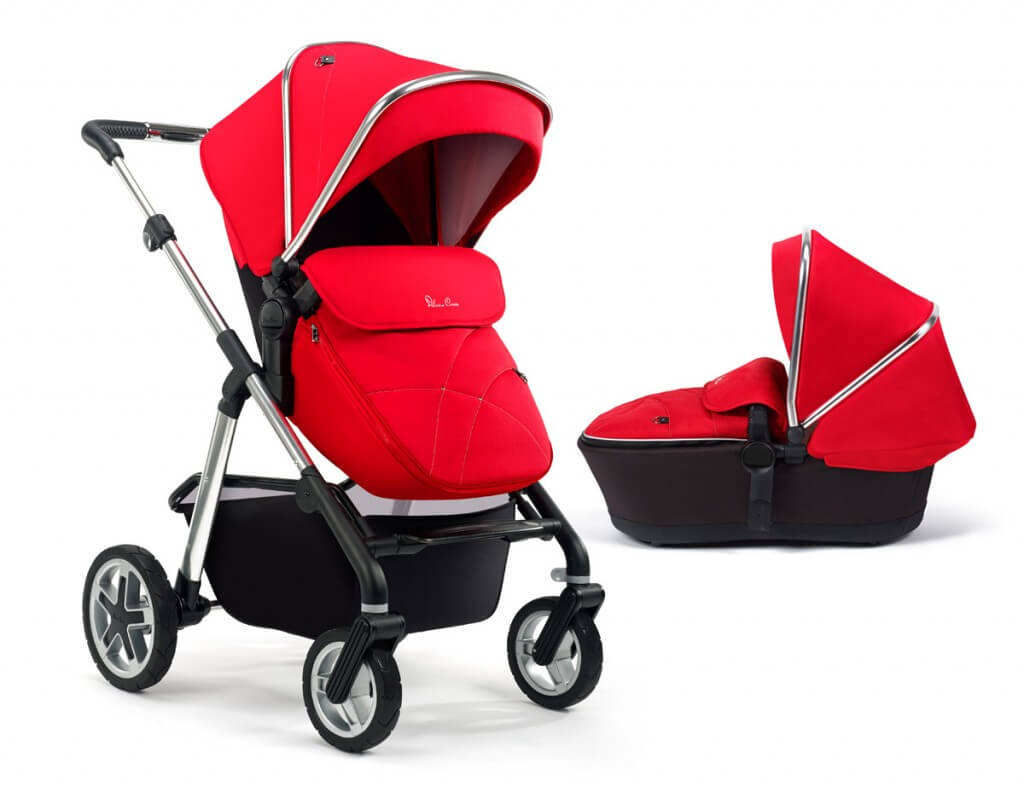 Pioneer + Carrycot - Chilli