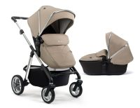 Pioneer + Carrycot -Sand