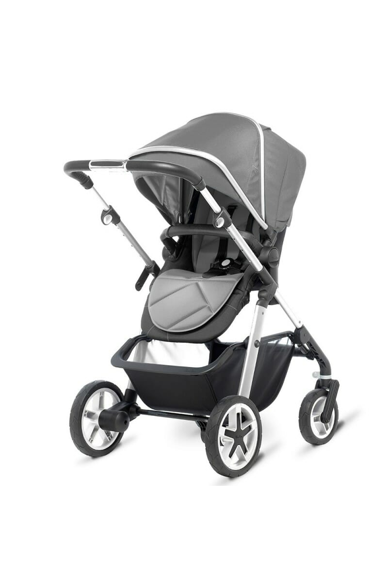 Silver Cross Pioneer Chrome Silver REAR_FACING_PUSHCHAIR_NO_SEAT_UNIT_3-4