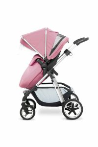 Silver Cross Pioneer Chrome Vintage Pink FW_PUSHCHAIR_VENT
