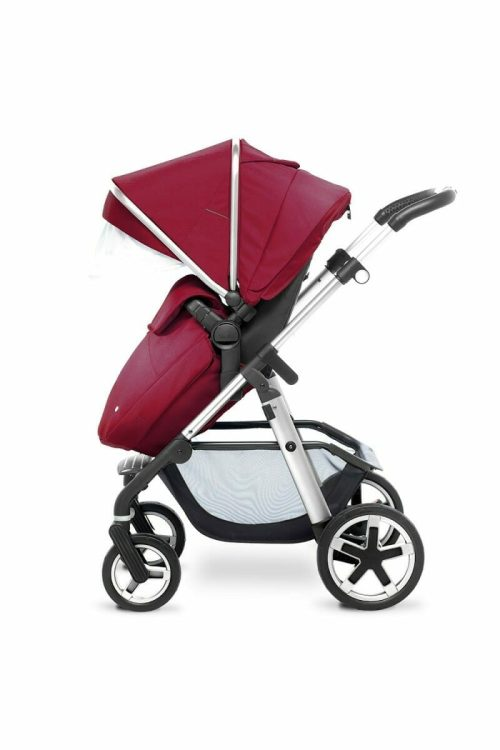 Silver Cross Pioneer Chrome Vintage Red FW_PUSHCHAIR