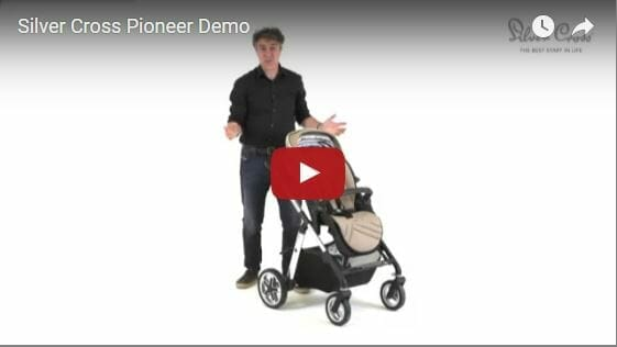 Silver Cross Pioneer Pram Video Demo