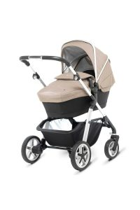 Silver Cross Pioneer Sand with Bassinet