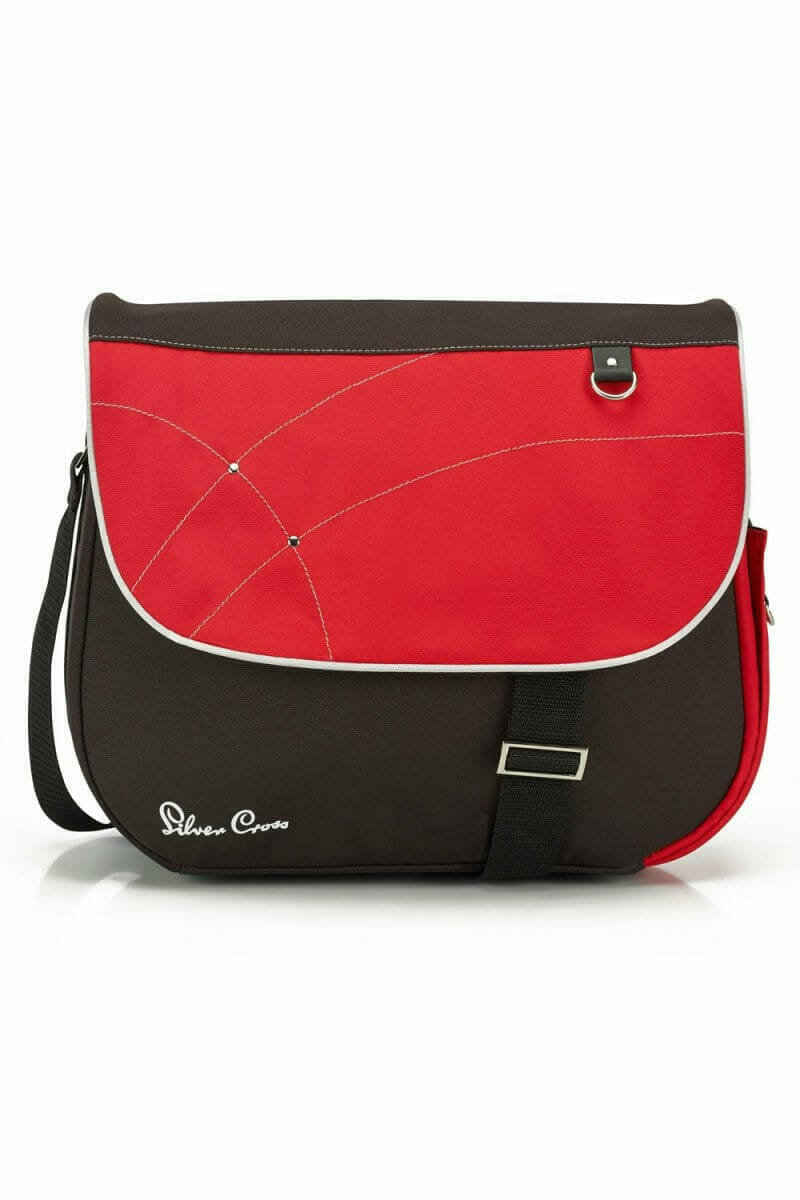 Silver Cross Wayfarer Surf Pioneer Changing Bag Chilli