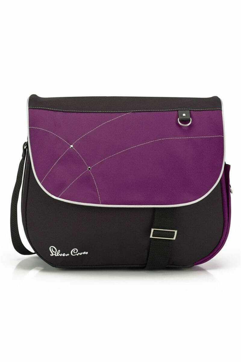 Silver Cross Wayfarer Surf Pioneer Changing Bag Purple