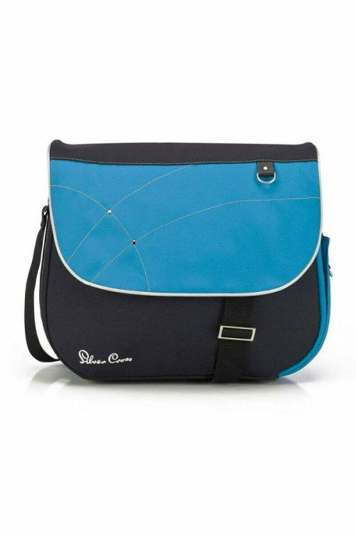 Silver Cross Wayfarer Surf Pioneer Changing Bag Blue