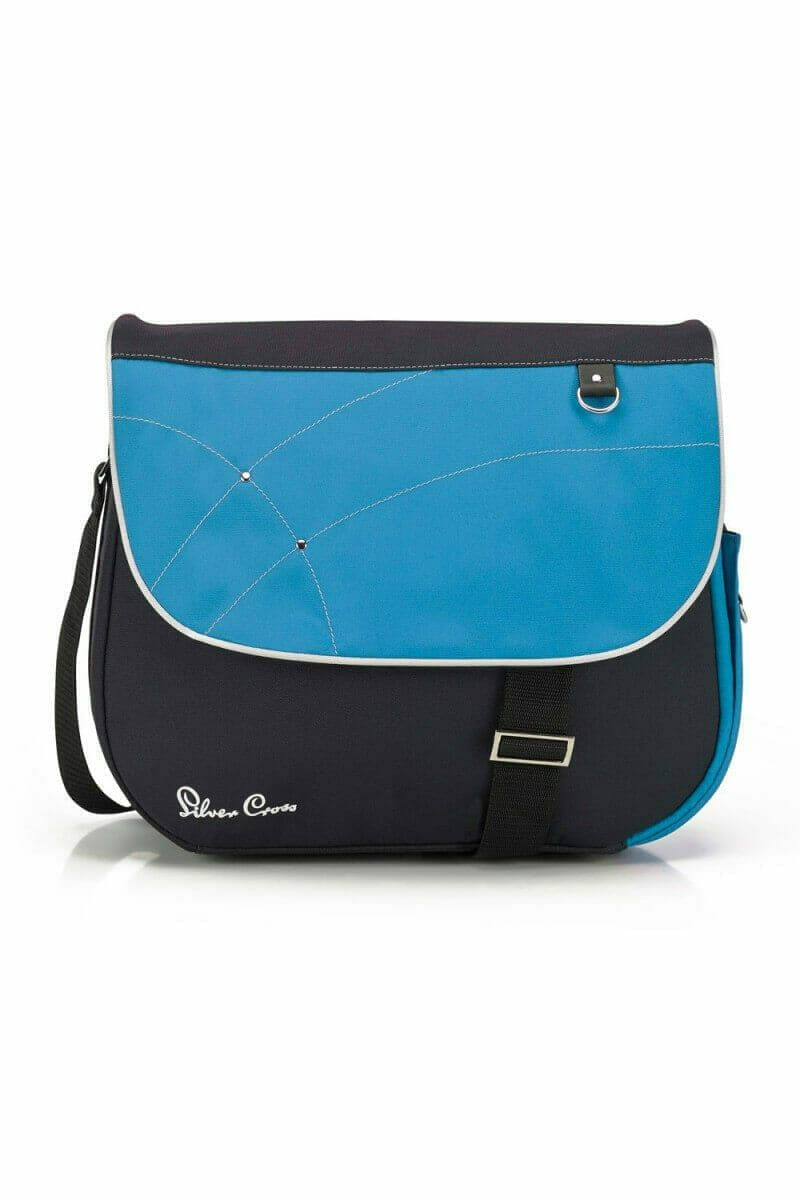 Silver Cross Wayfarer Surf Pioneer Changing Bag Blue