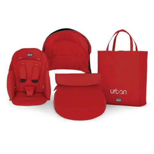 Chicco Urban Cherry Red Wave Collection