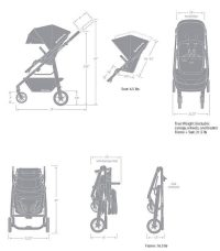 UppaBaby Alta Dimensions