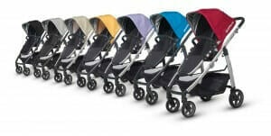 UppaBaby Alta Travel System Colours
