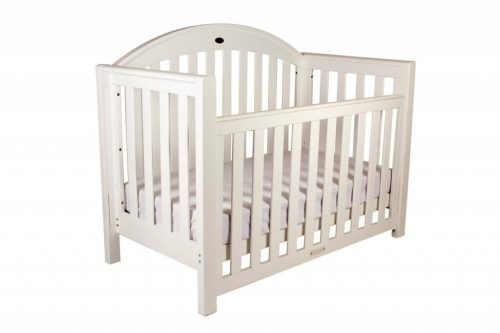 Grow With Me Classic White Cot Level