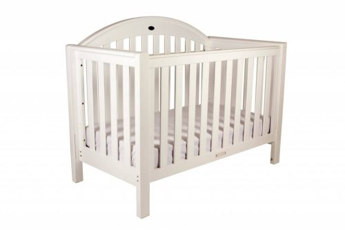 Grow With Me Classic White Cot