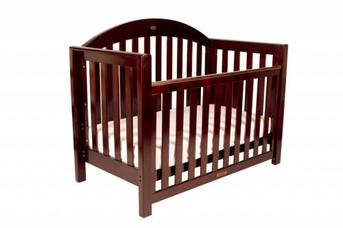 Grow With Me Classic English Oak Cot Level