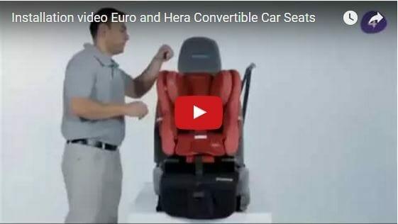 Maxi Cosi Euro Hera Install Video