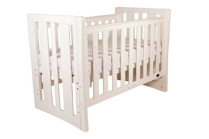 Babyhood Zimbali Cot - White