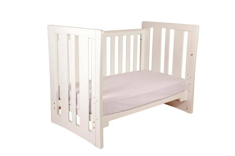 Babyhood Zimbali Cot as Sofa Bed White
