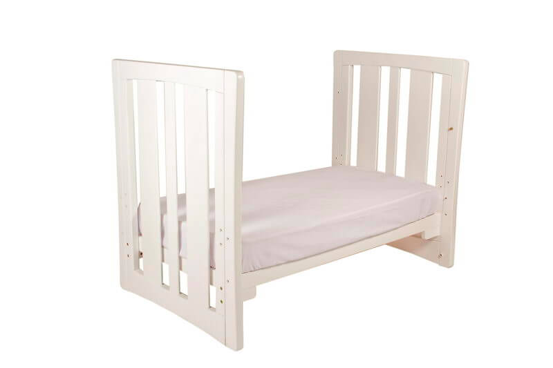Babyhood Zimbali Cot as Toddler Bed White