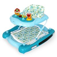 Babyhood Diddlee Doo Walker Rocker Ocean Blue