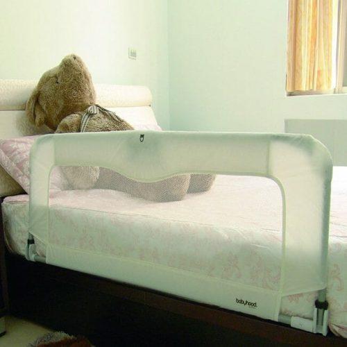 Babyhood Sleep Time Deluxe Bed Guard White.jpg