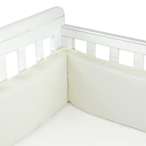Babyhood Cot Bumper 3 sided Cream