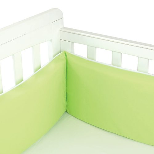 Babyhood Cot Bumper 3 sided Lime