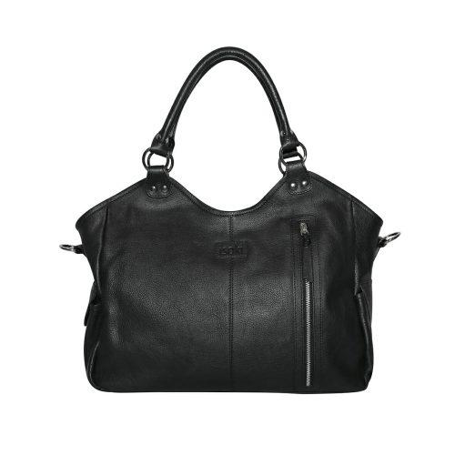 Isoki Leather Hobo Angel Nappy Bag Newtown