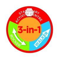 Safety 1st 3in1 Melody Garden Activity Center 3 in 1