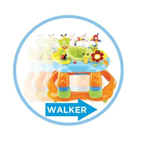 Safety 1st 3in1 Melody Garden Activity Center 3 in 1 walker
