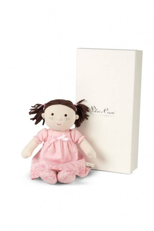 Silver Cross Rosie Traditional Rag Doll with Box