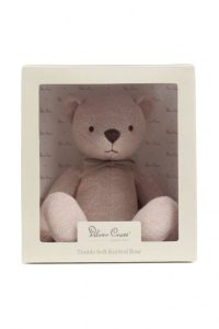 Silver Cross Timble Knitted Bear Box