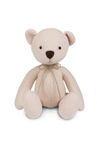 Silver Cross Timble Knitted Bear Front