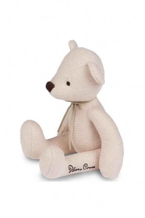 Silver Cross Timble Knitted Bear Side