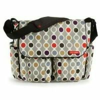 Skip Hop Dash Deluxe MEssenger Wave Dot