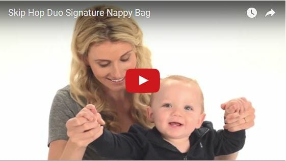 Skip Hop Duo Signature Diaper Bag Video