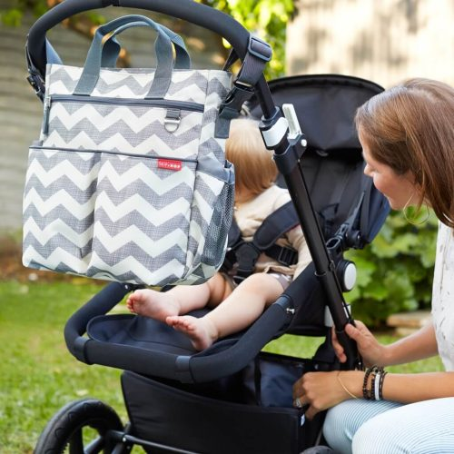 Skip Hop duo signature diaper bag LifeStyle