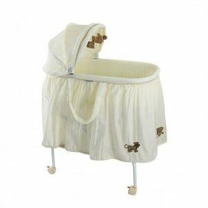babyhood Cream 4 Animal Bassinet
