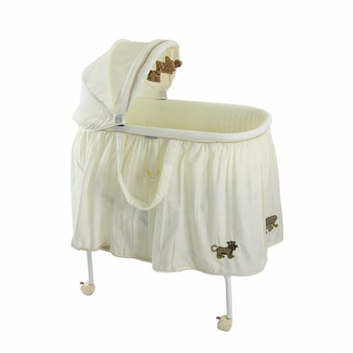 babyhood Cream 4 Animal Bassinet