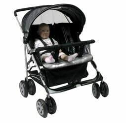 babyhood Duoali Side By Side Stroller