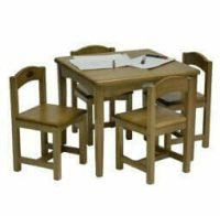 babyhoood Playing Table and 4 Chairs - Baltic