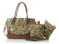 Isoki Carry All ToteNappy Bag - Ginger Bloom