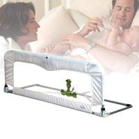 Babyhood Sleep Time Deluxe Bed Guard - White